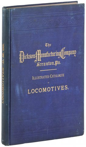 Rare Illustrated Catalogue Of Locomotives