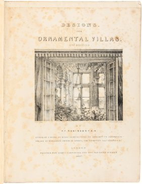 Designs For Ornamental Villas