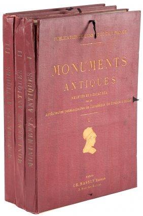 Monuments Antiques, France & Rome 3 Vols