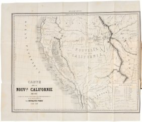 Ferry's Nouvelle Californie 1850 With Maps