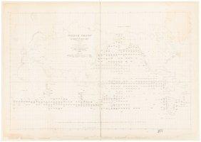 Rare Whale Chart 1851