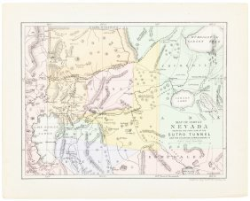 Nevada, Tahoe & Sutro Tunnell 1873