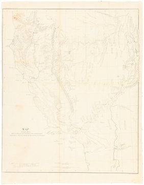Routes Across The West 1855