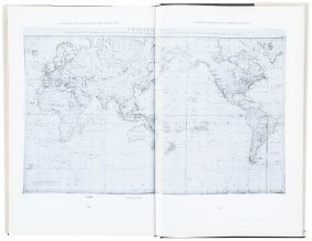 Charts And Coastal Views Of Captain Cook's Voyages