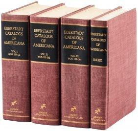 Annotated Eberstadt Catalogs Of Americana 4vols