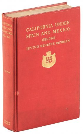 California Under Spain And Mexico