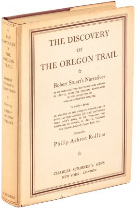 Stuart's Narrative Of The Oregon Trail