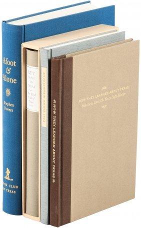 Four Volumes On Texas History