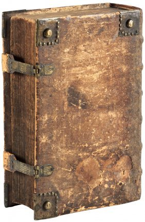 Bible In German 1725