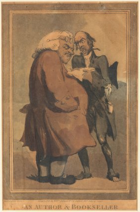 Rowlandson Illustration Of Samuel Johnson