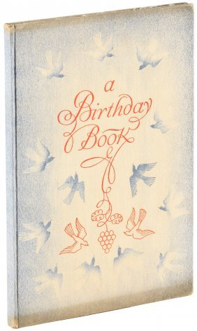 Rockwell Kent Birthday Book Signed Limited Edition