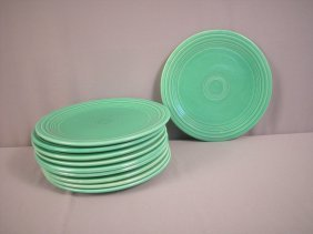 "Fiesta 9"" Plate Group - 10 Light Green"