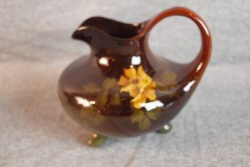 Weller Louwelsa Standard Glaze Art Pottery Ewer Wi