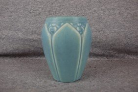 Rookwood Blue Vase, 1926, 2090, 4 1/2""