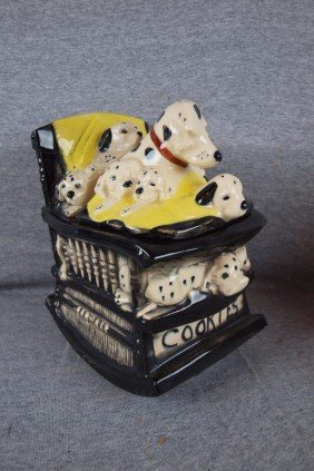 McCoy Dalmations Cookie Jar