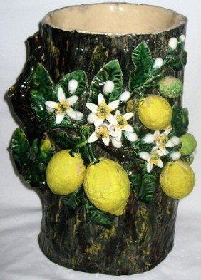 Perret-Gentil Menton Monumental Vase In A Form Of