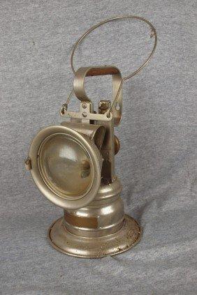 National Carbide Lantern Carbide Railroad Lantern