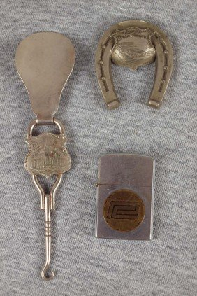 Railroad Lot Of 3 Items - New Union Station Clevel