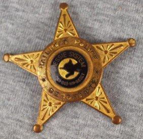 Chessie System Railroad Police Sergeant Badge