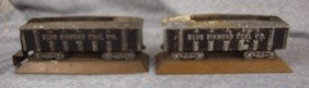 Blue Diamond Coal Co Pair Of Advertising Ash Trays