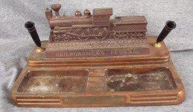 Railroadman's Federal Desk Set