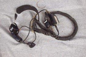 Western Electric Railroad Telephone Head Set