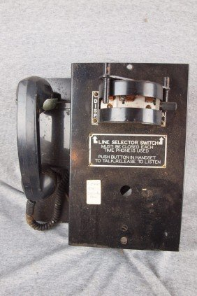 L&EWRR Coldwater, Ohio Line Selector Switch
