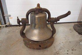 """Railroad Brass Engine Bell, #3488, 15""""d"""