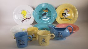 Fiesta Post 86 Lot Of 11 Looney Tune Items