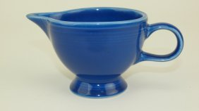 Fiesta Post 86 Rare Sapphire Creamer, This Is The Only