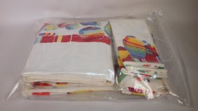 Fiesta Lot Of Table Linens With Mexican Theme