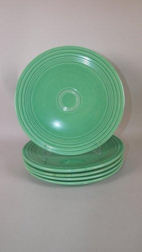 """Fiesta 9"""" Plate Group: 5 Green"""