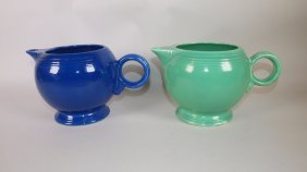Fiesta Large Teapot Base-cobalt & Green
