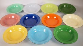 Fiesta Deep Plate Group: All 11 Colors