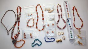 Lee Sands Lot Of Jewelry
