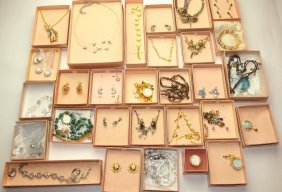 Kirks Folly Large Lot Of Jewelry