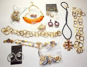 Kenneth J. Lane Lot Of Jewelry