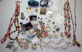 Large Lot Of Assorted Jewelry