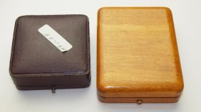 American Watch Co. Wooden Case And Watch Case 20