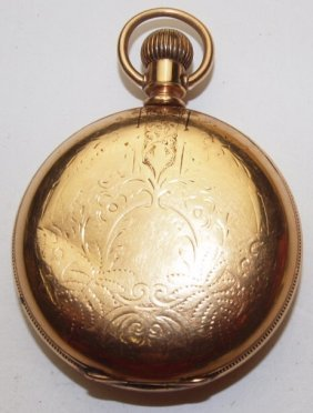 Elgin Hunters Case Pocket Watch, 18s, Lever Set