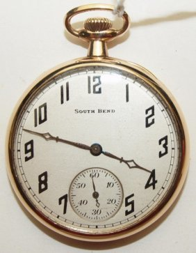 South Bend 429, 19j, 12s, O.f. Pocket Watch With South