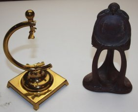 Lot Of 2 Pocket Watch Display Stands