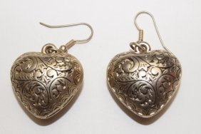 Sterling Silver Pair Of Earrings