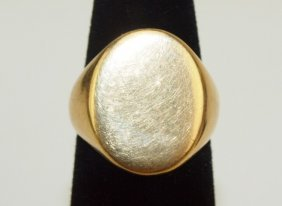Cartier 14k Ring, 14.9g