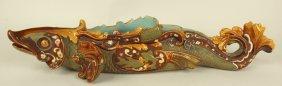 Wilhelm Schiller & Son (ws&s) Majolica Figural Fish,