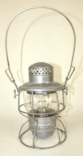 Adlake Railroad Lantern, Short Clear Globe, Lantern