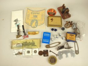 Lot Of Assorted Railroad Items