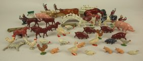 Lot Of Lead & Metal Animals: England, France, & Us 20