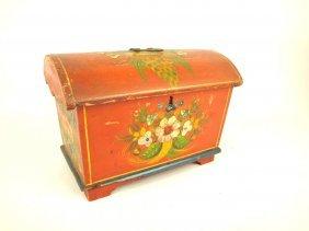 Early Pennsylvania Dutch Wedding Box/trunk With