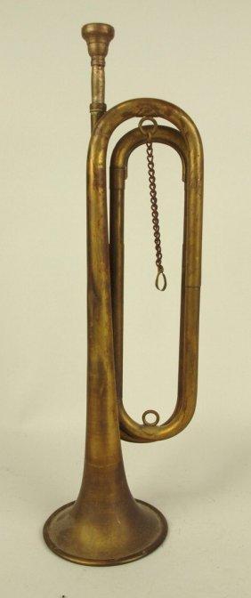 """Brass Bugle, 17 1/2"""""""